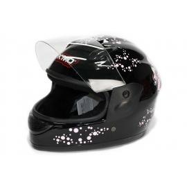 BTC Motors Vollvisier-Helm