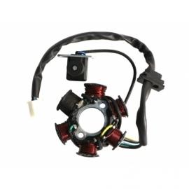 Stator - Zündplatte - 6 Spulen - Starter