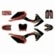 Dekorationssatz N'STYLE MONSTER - Typ CRF110 - Rot