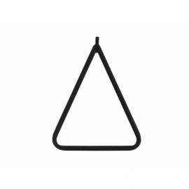 Dreieckige Krücke - Schwarz